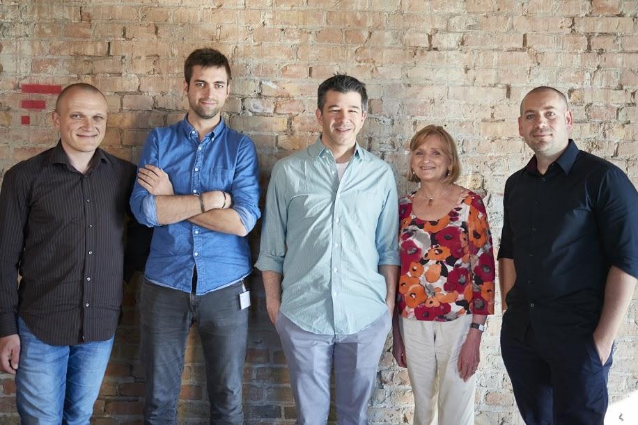 Spotkania HiProMine z Travisem Kalanickiem, współtwórcą i CEO Ubera (fot.mat.pras.)
