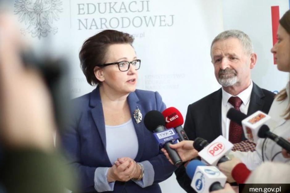 Zalewska: Kształcenie nauczycieli ważnym elementem zmian w oświacie