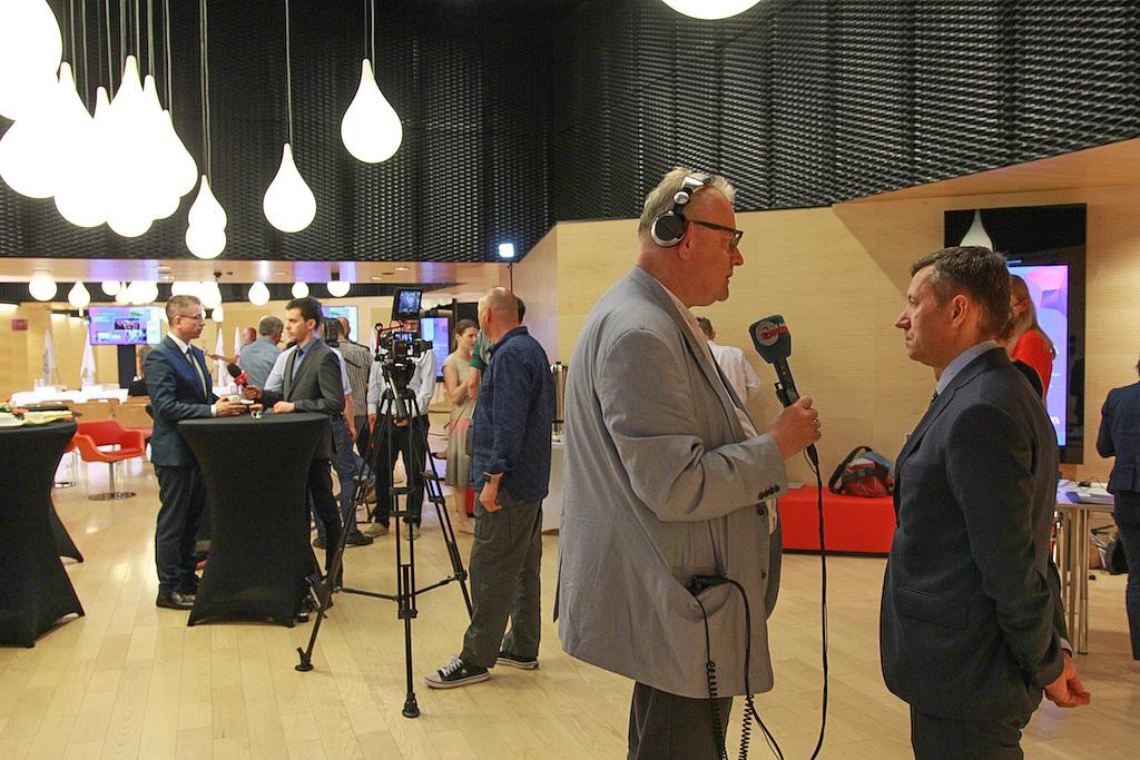 W wykładach otwartych, przeprowadzonych w ramach projektu EEC – Liderzy Przyszłości na VIII Europejskim Kongresie Gospodarczym w Katowicach, wzięło udział blisko dwa tys. studentów (fot.PTWP)