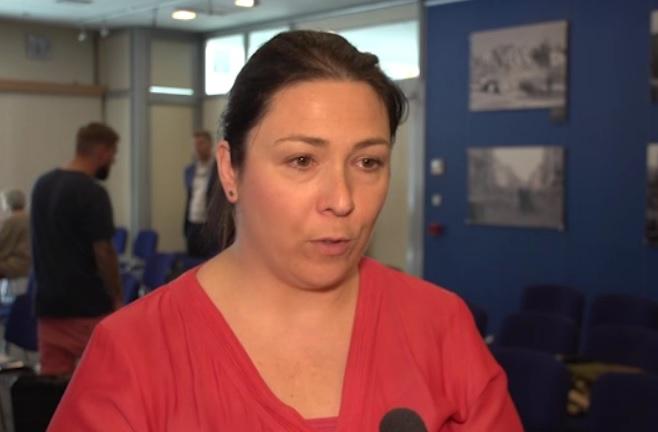 - Pracodawcy coraz silniej zwracają się w kierunku zatrudniania naszych sąsiadów zza wschodniej granicy - mówi Agnieszka Bulik (fot.newsrm.tv)