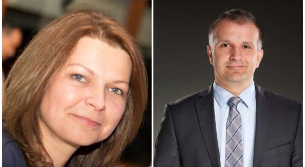 Agnieszka Andrzejewska i Sebastian Pawłowski w zarządzie Komputronika Biznes