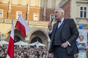Korwin-Mikke: Dla Polaków którzy pracują w Wielkiej Brytanii Brexit nie robi różnicy
