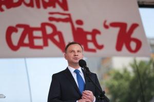 Duda: Nie byłoby Solidarności, gdyby nie Radom