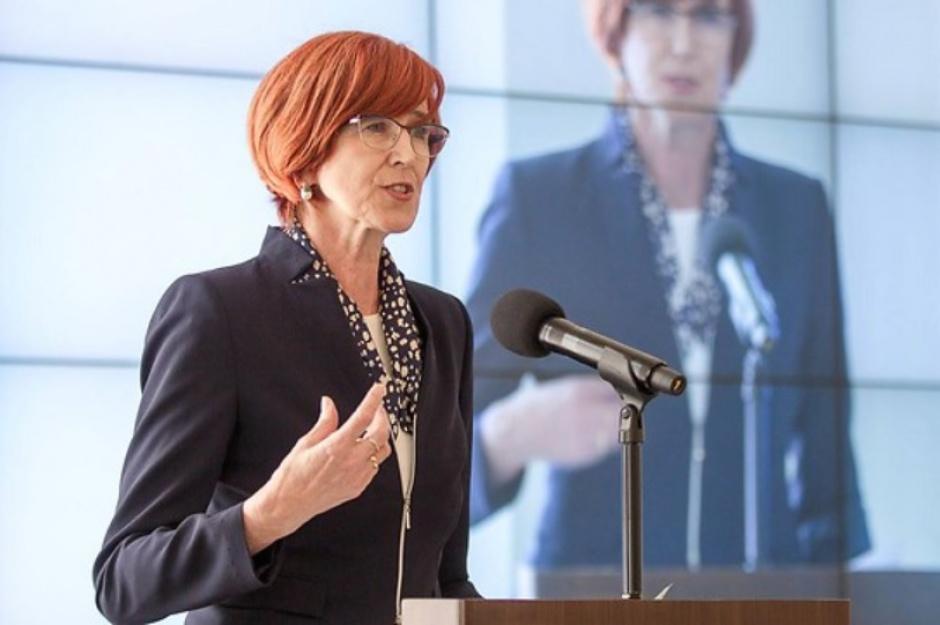 Elżbieta Rafalska, minister Rodziny, Pracy i Polityki Społecznej. (fot. mpips.gov.pl)