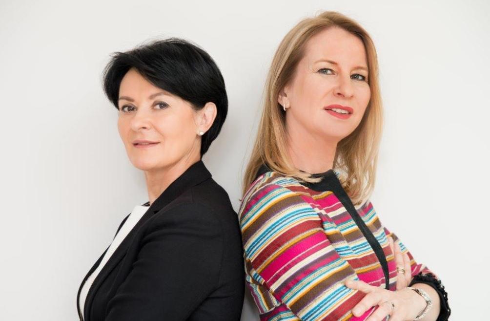 Beata Jarosz i Joanna Pruszyńska.