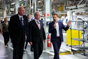 Burmistrz Hanoweru spotkał się z zarządem i pracownikami Volkswagena