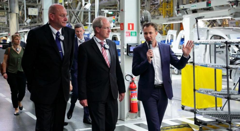 Volkswagen Poznań: Burmistrz Hanoweru spotkał się z zarządem i pracownikami fabryki