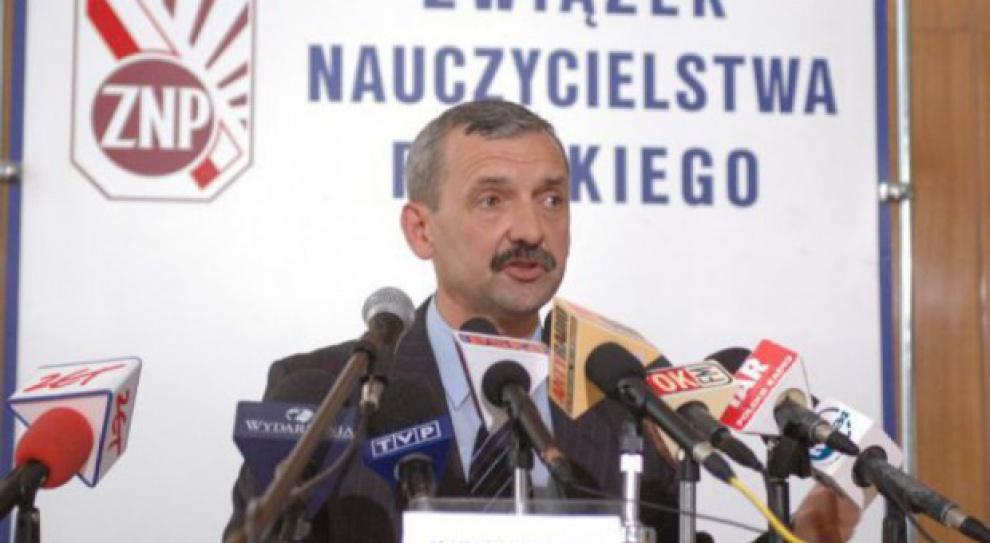 Prezes ZNP o likwidacji gimnazjów: Nie zgadzamy się na demontaż oświaty