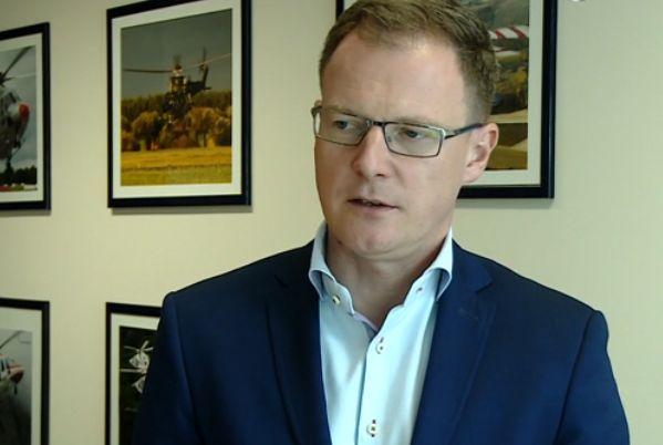 Krzysztof Krystowski, wiceprezes Leonardo Helicopters, firmy do której należy PZL-Świdnik (Fot. Newseria)