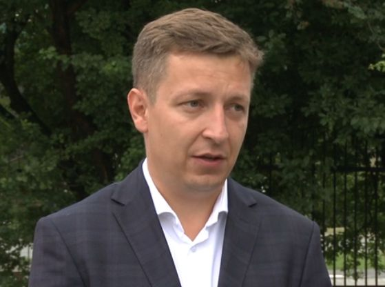 Bartosz Najman z Ogólnopolskiego Centrum Rozliczania Kierowców (Fot. Newseria)