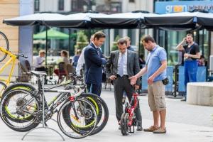 Pracodawcy zauważyli rowerowy trend