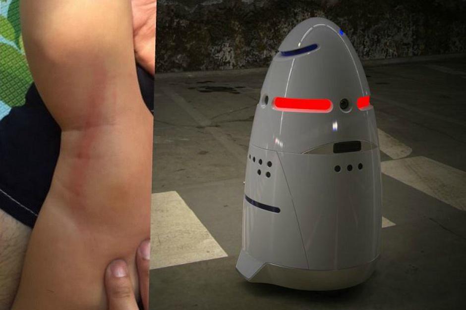 """Robot pracujący w centrum handlowym """"zaatakował dziecko"""""""