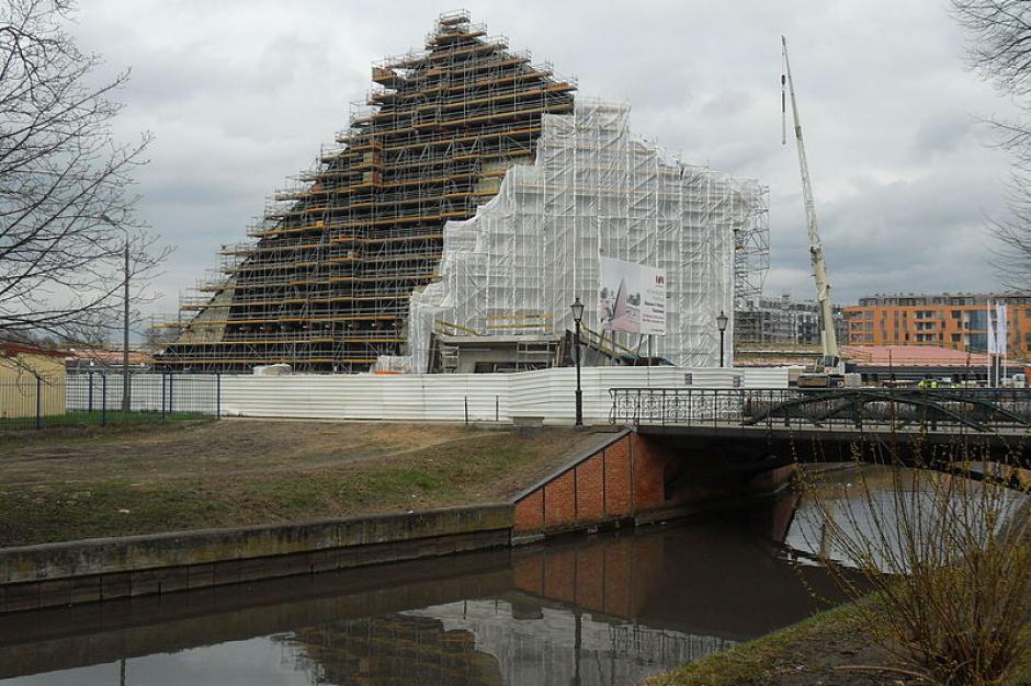 Budowa siedziby Muzeum II Wojny Światowej. Fot. wikipedia