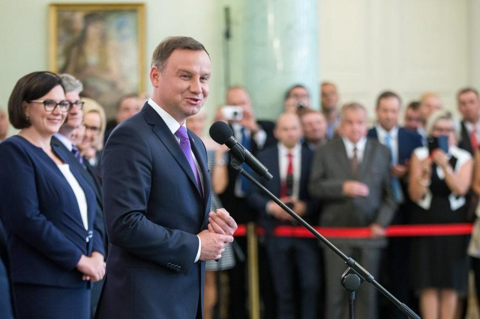Prezydent powołał 58 nowych sędziów