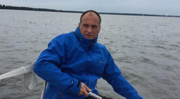 Urlop: Paweł Kukiz spędza wakacje na Mazurach