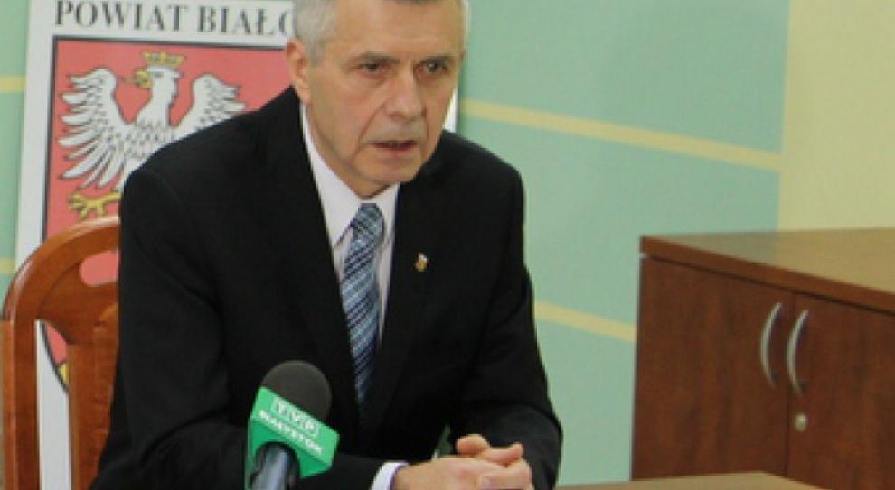 Białystok: Radni chcą odwołać starostę Antoniego Pełkowskiego