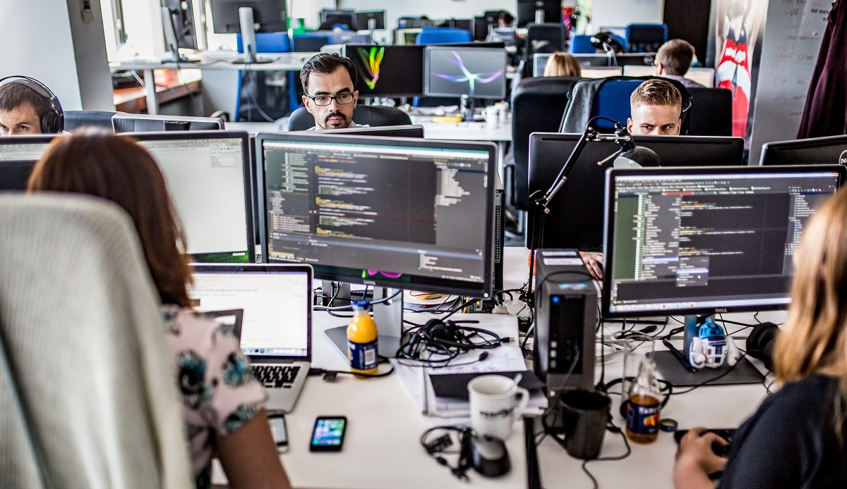 – To świetna praca dla kibiców, będąca również ciągłym wyzwaniem dla programistów - uważa Marzanna Poborska, HR menedżer z Perform Polska. (Fot.mat.pras.)