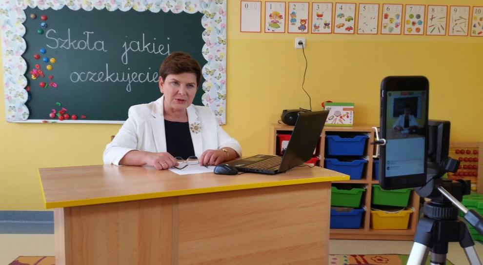 Reforma oświaty, Szydło: Chcemy przystosować nowy system szkolny, by nauczyciele mieli pracę