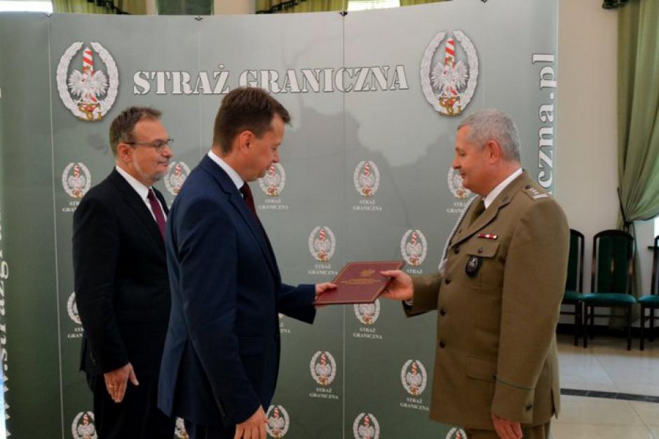 Straż Graniczna: Marek Łapiński pułkownikiem