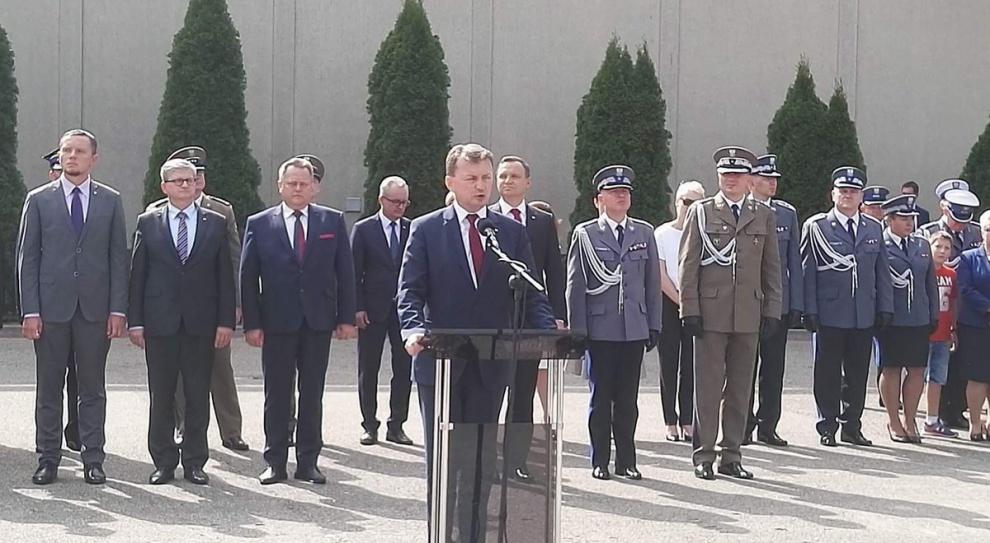 Policjanci, strażacy i inni funkcjonariusze odebrali wyróżnienia za ŚDM i szczyt NATO