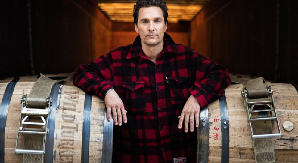 Matthew McConaughey dyrektorem kreatywnym burbonu Wild Turkey