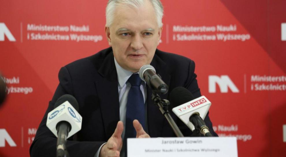 Gowin: Najlepsi wyjeżdżają na studia i nie wracają do Polski