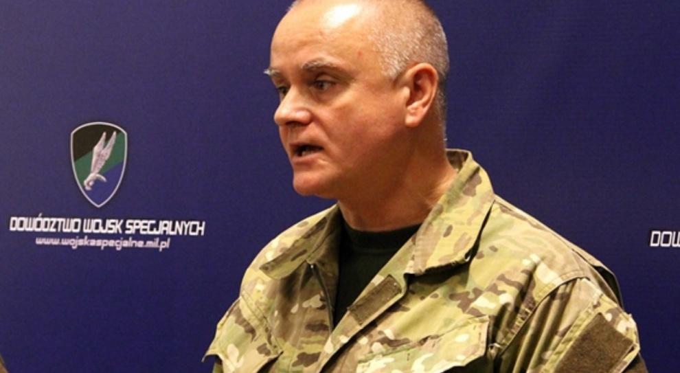 Piotr Patalong odwołany z funkcji inspektora Wojsk Specjalnych