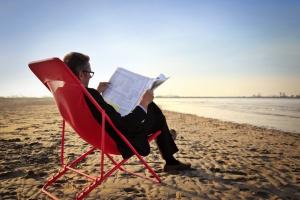 Biuro na plaży czy w ogrodzie? Tak ale musi być wygodnie