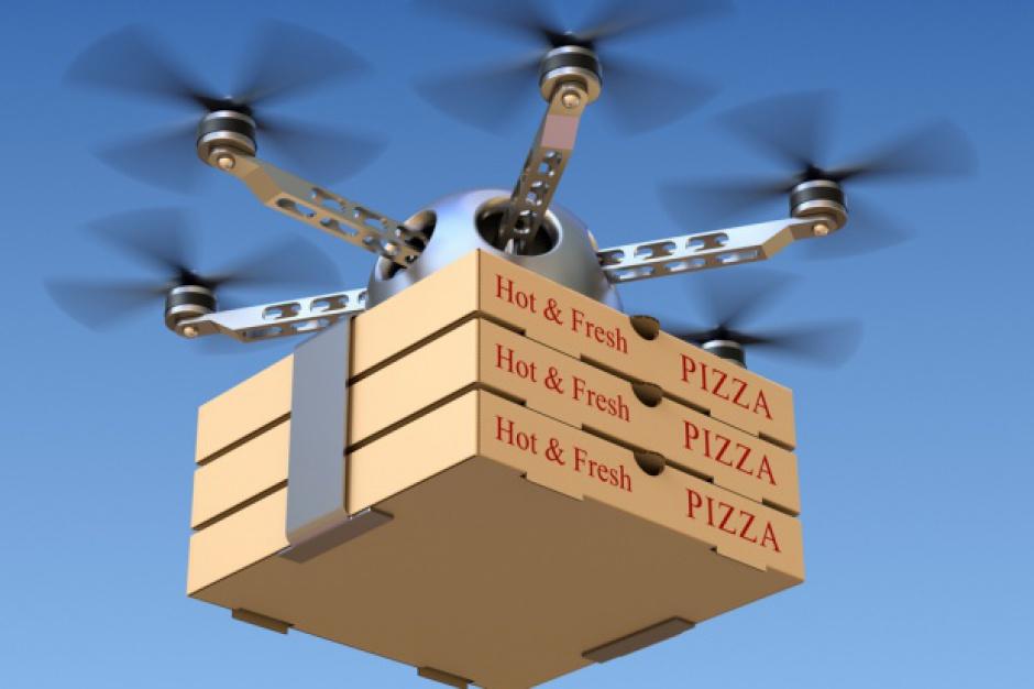 Google dostarczy jedzenie studentom za pomocą dronów