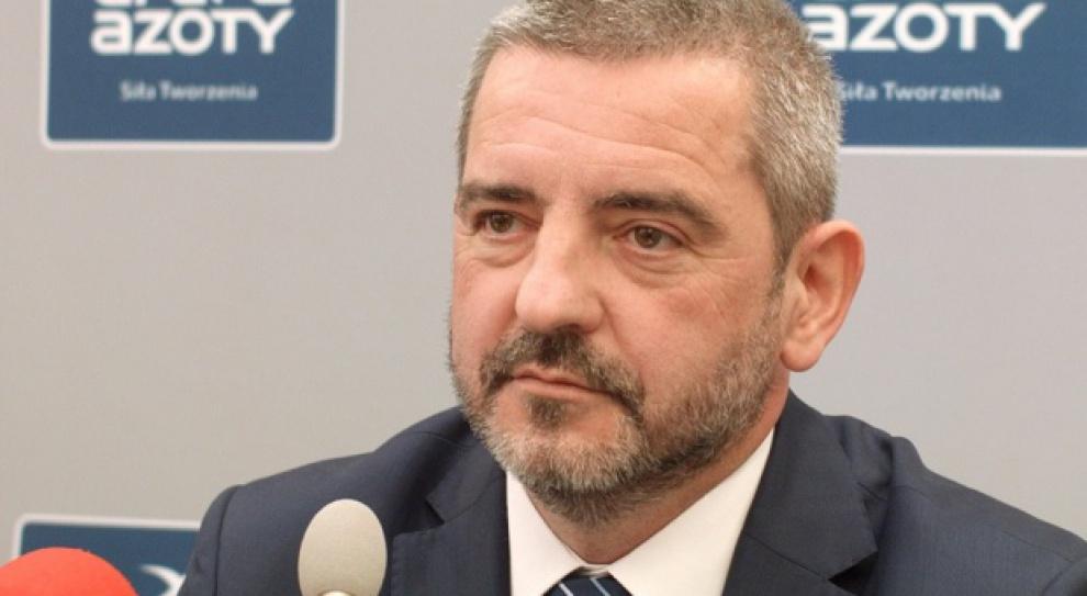 Mariusz Bober - prezes Grupy Azoty - przewodniczącym Rady Polskiej Izby Przemysłu Chemicznego
