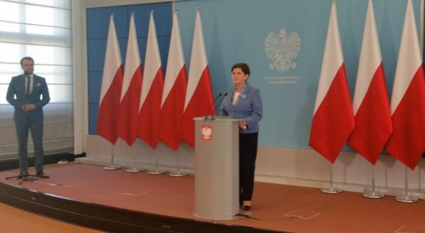 Premier Beata Szydło zapowiada walkę z patologiami w spółkach skarbu państwa