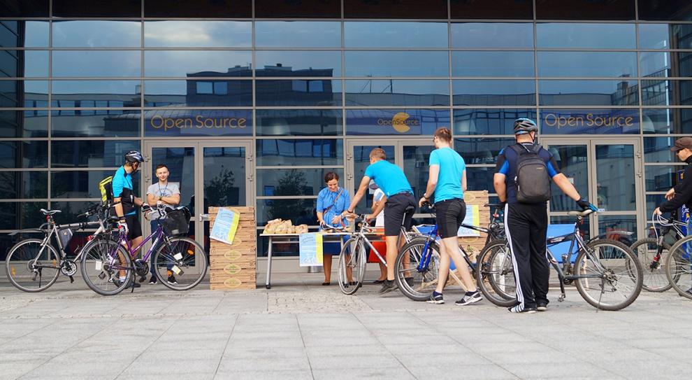 Rowerem do pracy: Comarch wspiera pracowników-rowerzystów