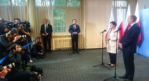 Protest w gmachu MZ, Szydło: Zobowiązałam ministra Radziwiłła do działań ws. ochrony zdrowia