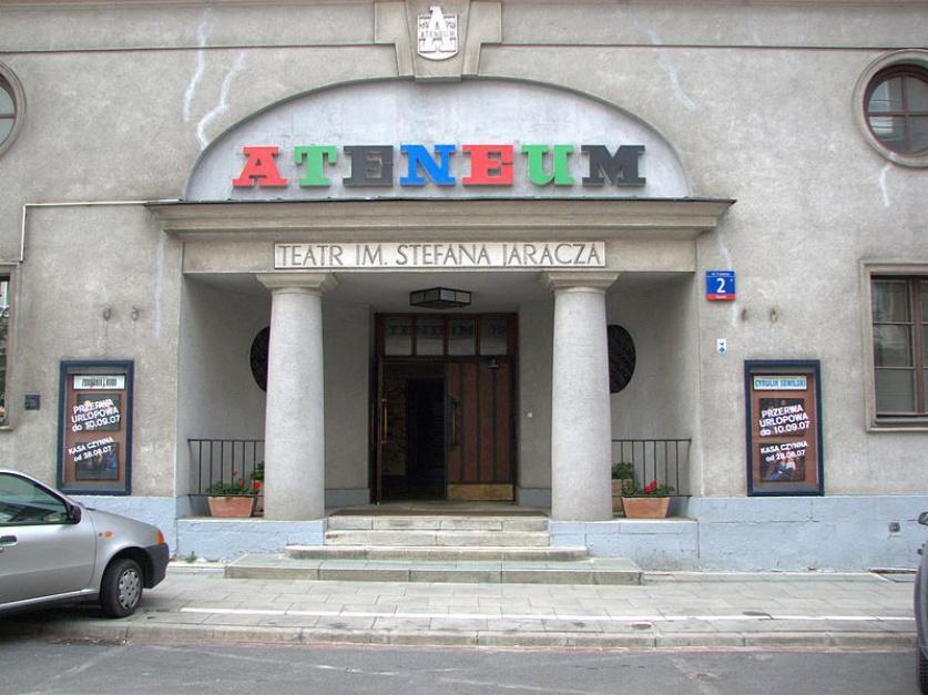 Teatr Żydowski w Fabryce Trzciny. Ryszard Markow p.o. dyrektora Ateneum