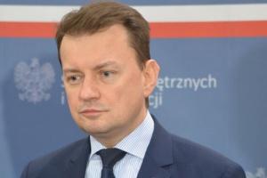 Minister Błaszczak wstawia się za polskimi kierowcami