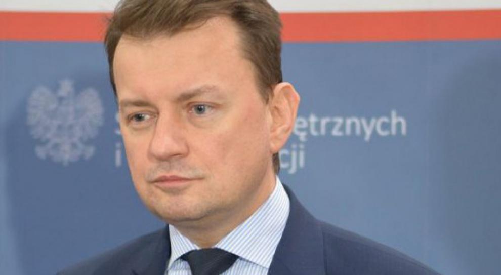 Błaszczak apeluje do szefa francuskiego MSW ws. polskich kierowców w Calais