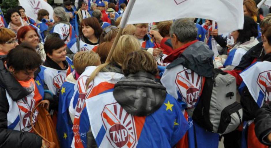 ZNP: 10 października pikiety przeciw reformie oświaty
