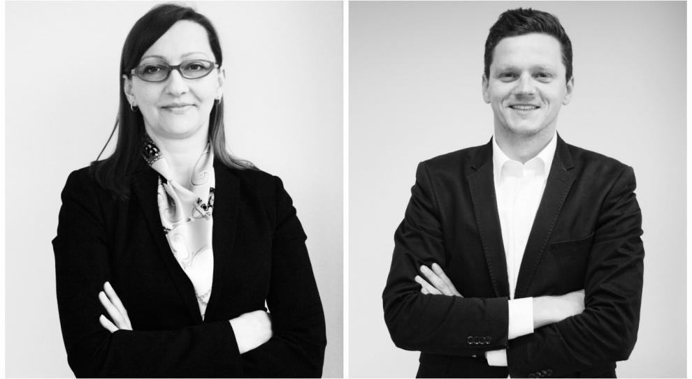 Lidia Cieślak i Łukasz Gabler w zespole MSLGroup
