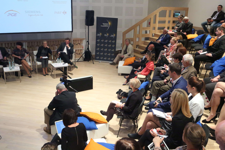 Debata demografia i rynek pracy w Polsce Wschodniej odbyła się w piątek (23 września) podczas III Wschodniego Kongresu Gospodarczego. (fot. PTWP)
