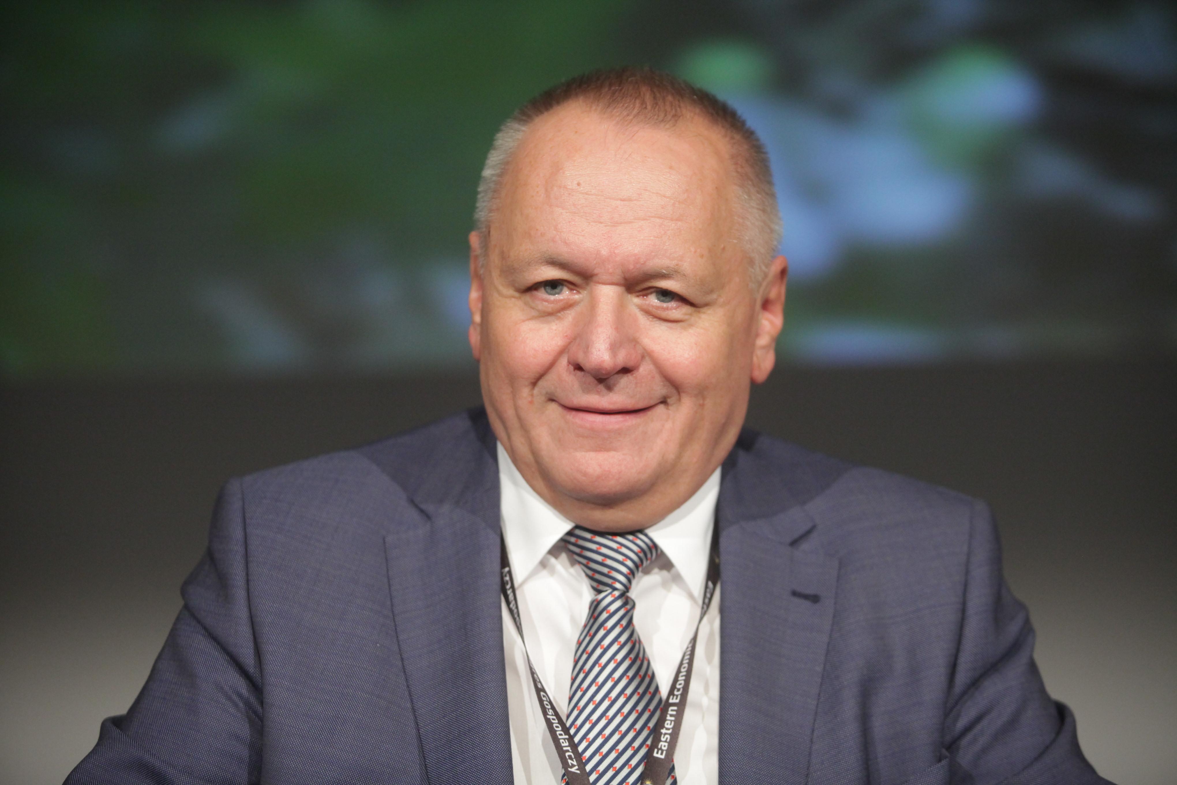 Lech Dzienis, rektor Politechniki Białostockiej. (fot. PTWP)