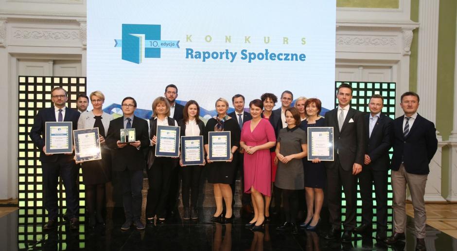 Górażdże, KGHM, Bogdanka, Orlen, Bank Zachodni wyróżnione za najlepsze raporty społeczne