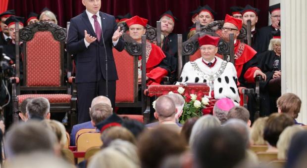 Duda na inauguracji roku akademickiego: W nauce potrzebna jest odwaga i uczciwa debata
