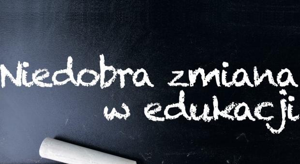 Reforma oświaty, protest: Nauczyciele przeciwko. 10 października będą protestować