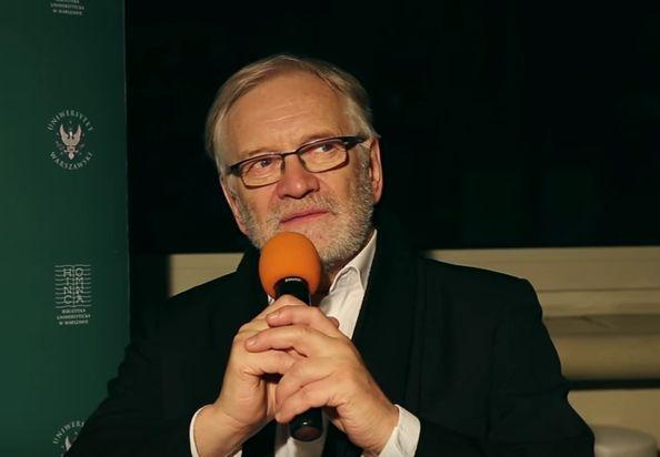 - O Andrzeju mówi się, że on ma znakomitą intuicję w doborze aktorów - mówi Andrzej Seweryn. (Fot. YouTube)