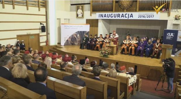 KUL, inauguracja roku akademickiego: Wiekowy uniwersytet będzie się kształcić prawie 13 tys. studentów