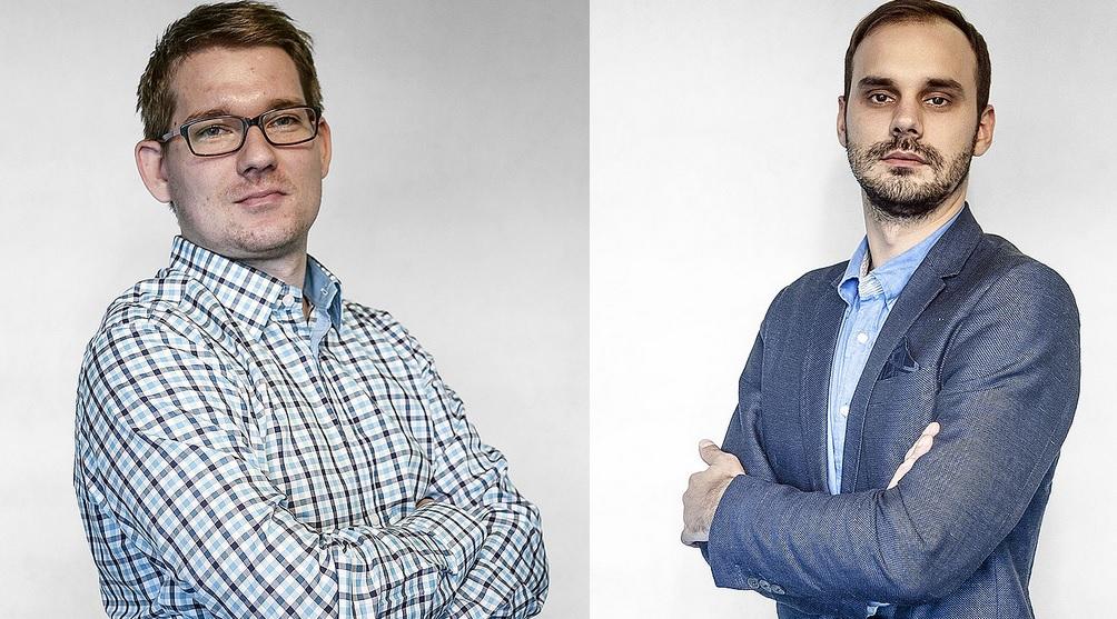 Tomasz Liwacz i Maciej Parol (fot.mat.pras)