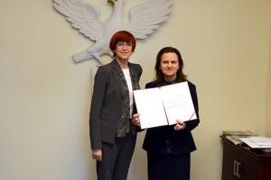 Prezes ZUS przekazała minister rodziny wyniki i wnioski z przeglądu emerytalnego