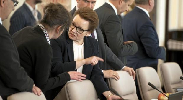 Minister Zalewska o zespole ds. statusu zawodowego pracowników oświaty