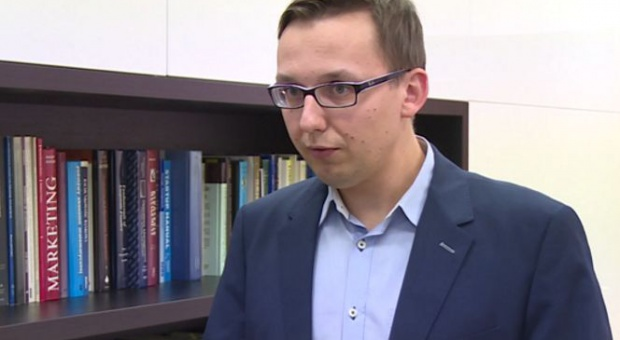 dr Szymon Wierciński z Katedry Strategii na Akademii Leona Koźmińskiego (fot.newseria)