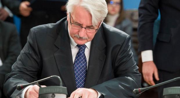 Waszczykowski: Czas na duży przegląd kadrowy ambasadorów i pracowników MSZ. Będą zwolnienia i zmiany